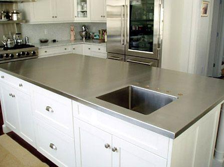 Stainless Steel Kitchen Countertops