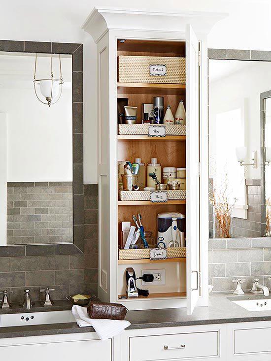 Bathroom Counter Shelf