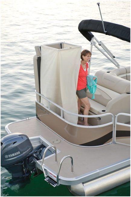 Pontoon Boat With Bathroom