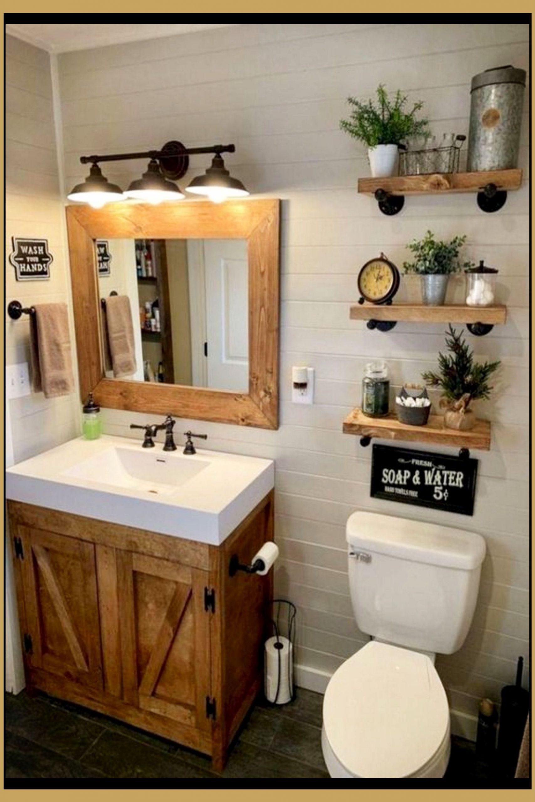 Country Bathroom Decor