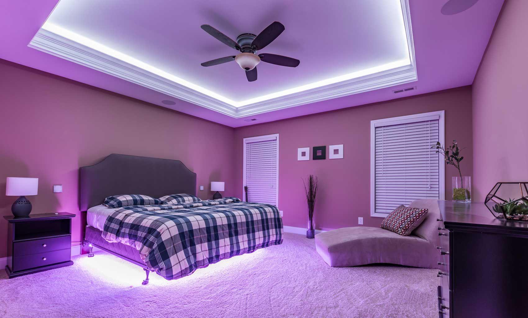 Mood Lighting Bedroom