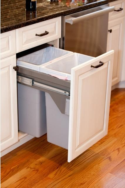 Kitchen Garbage Can Cabinet