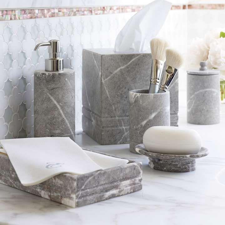 Marble Bathroom Set