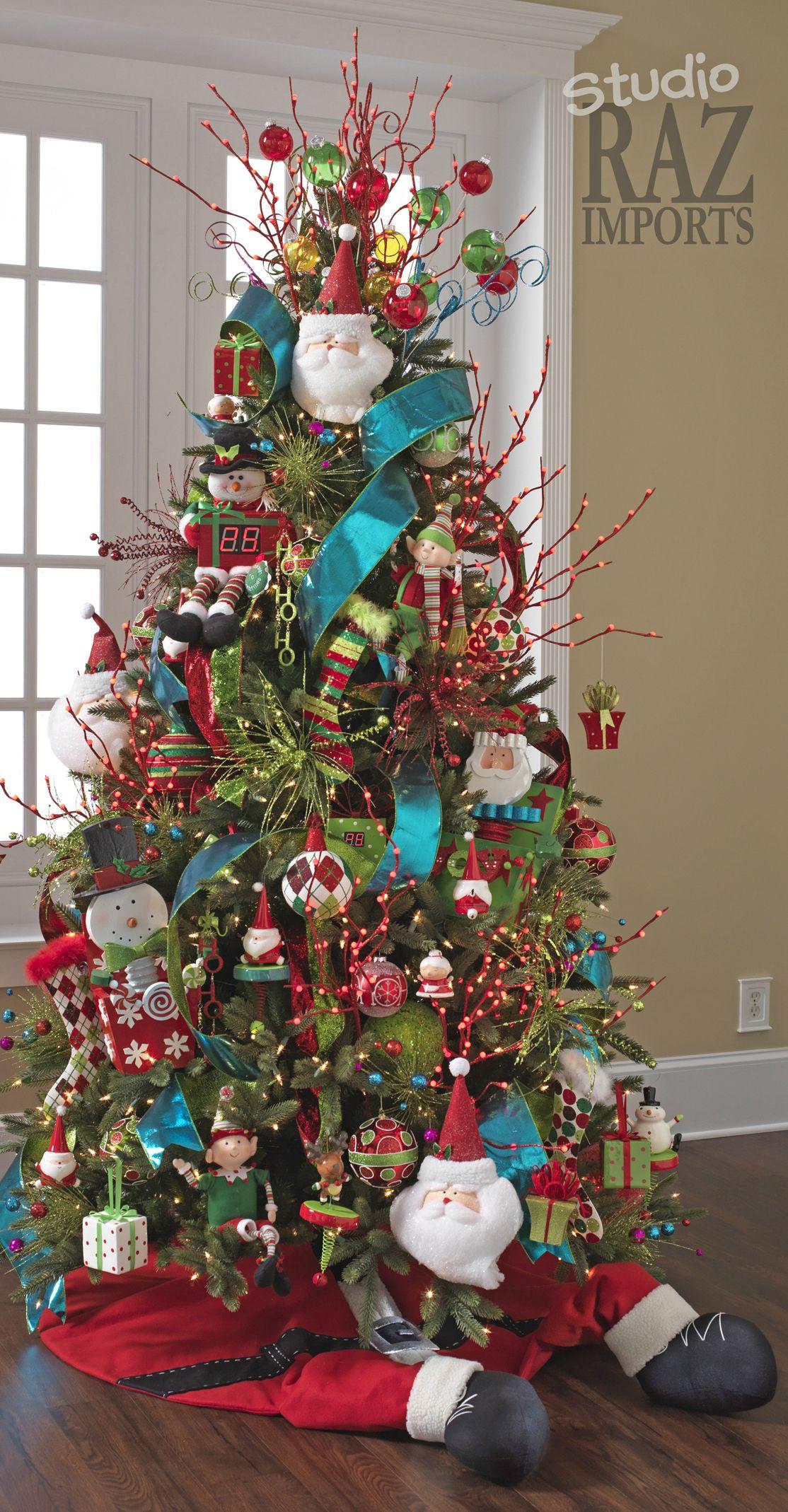 Multi Color Christmas Tree