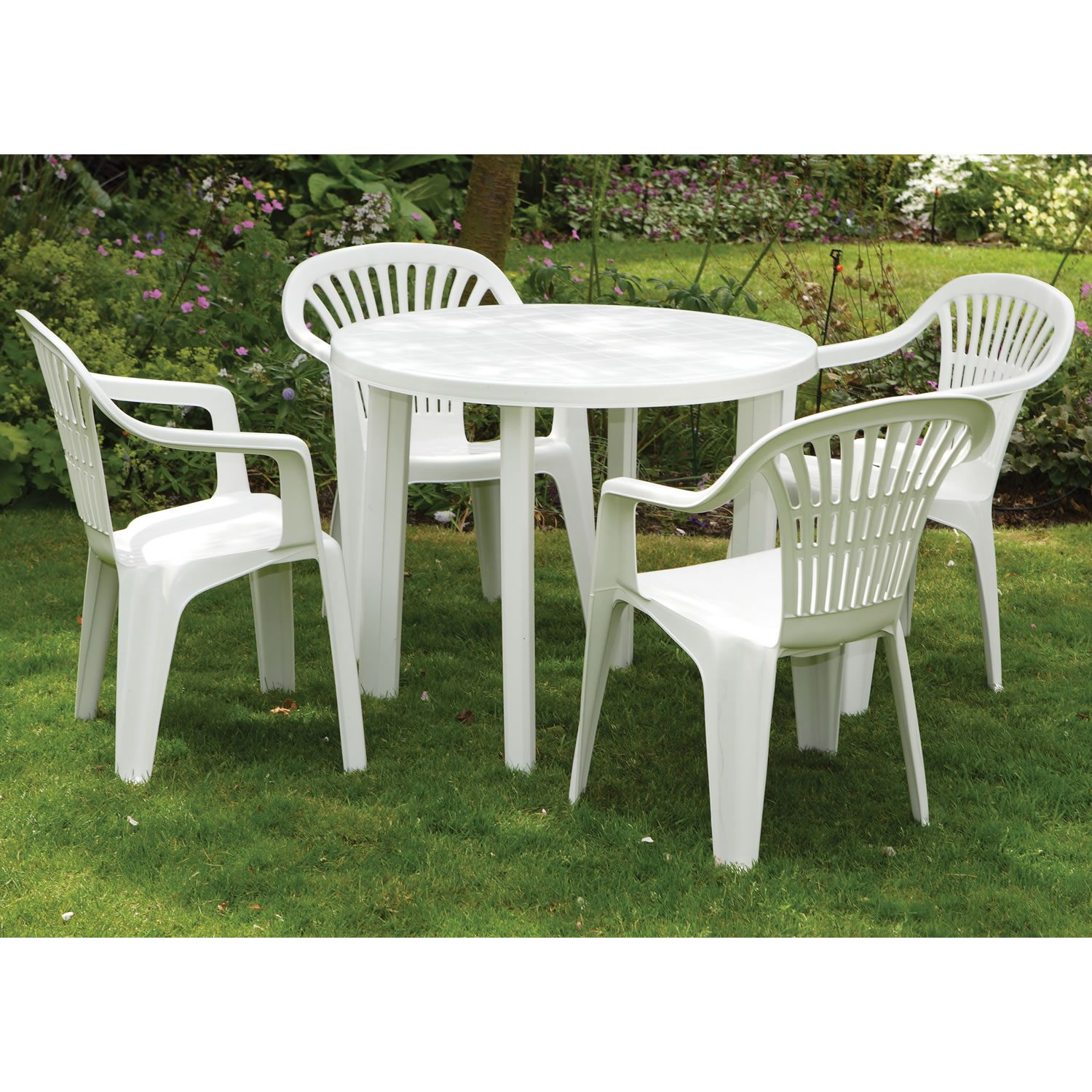 Plastic Outdoor Table And Chairs