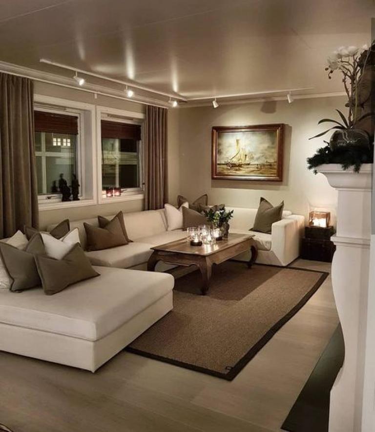 Beige Living Room Ideas