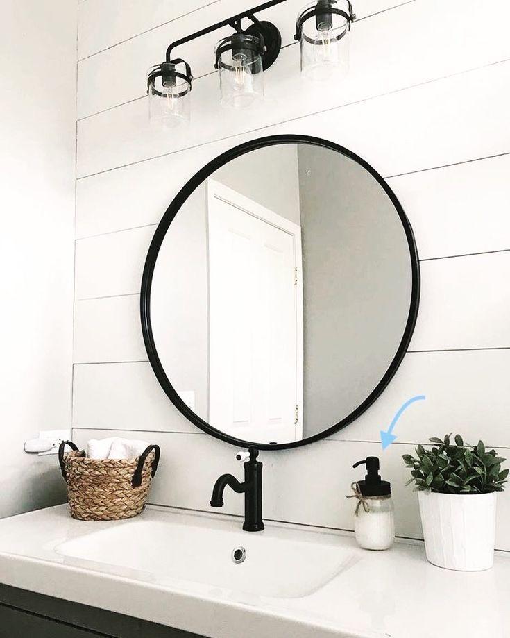 Circle Bathroom Mirrors