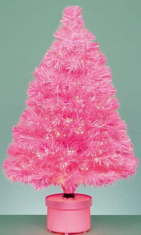 Small Pink Christmas Tree