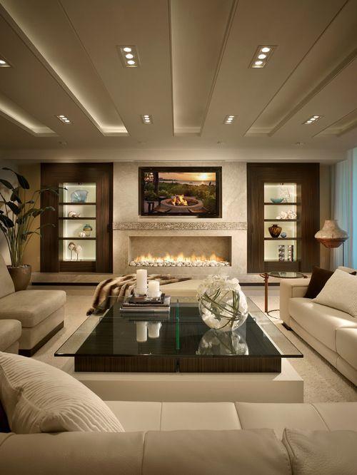Living Room Contemporary Interior Design