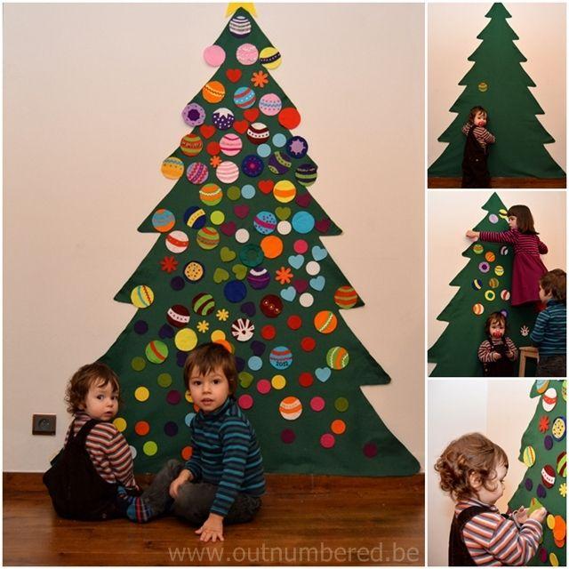 Felt Christmas Tree For Toddlers