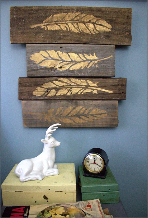 DIY Wall Decor Wood