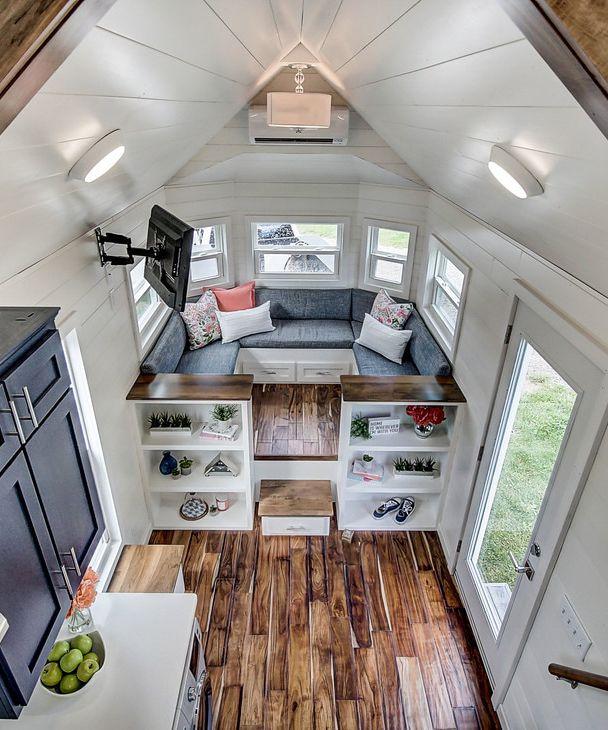 Shed Tiny House Interior