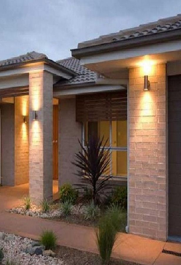 Outdoor Lighting Ideas For Front Of House