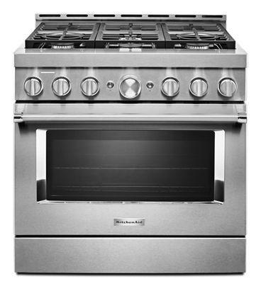 Kitchenaid 36 Gas Range