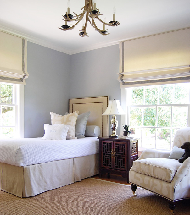 Bedroom Roman Shades