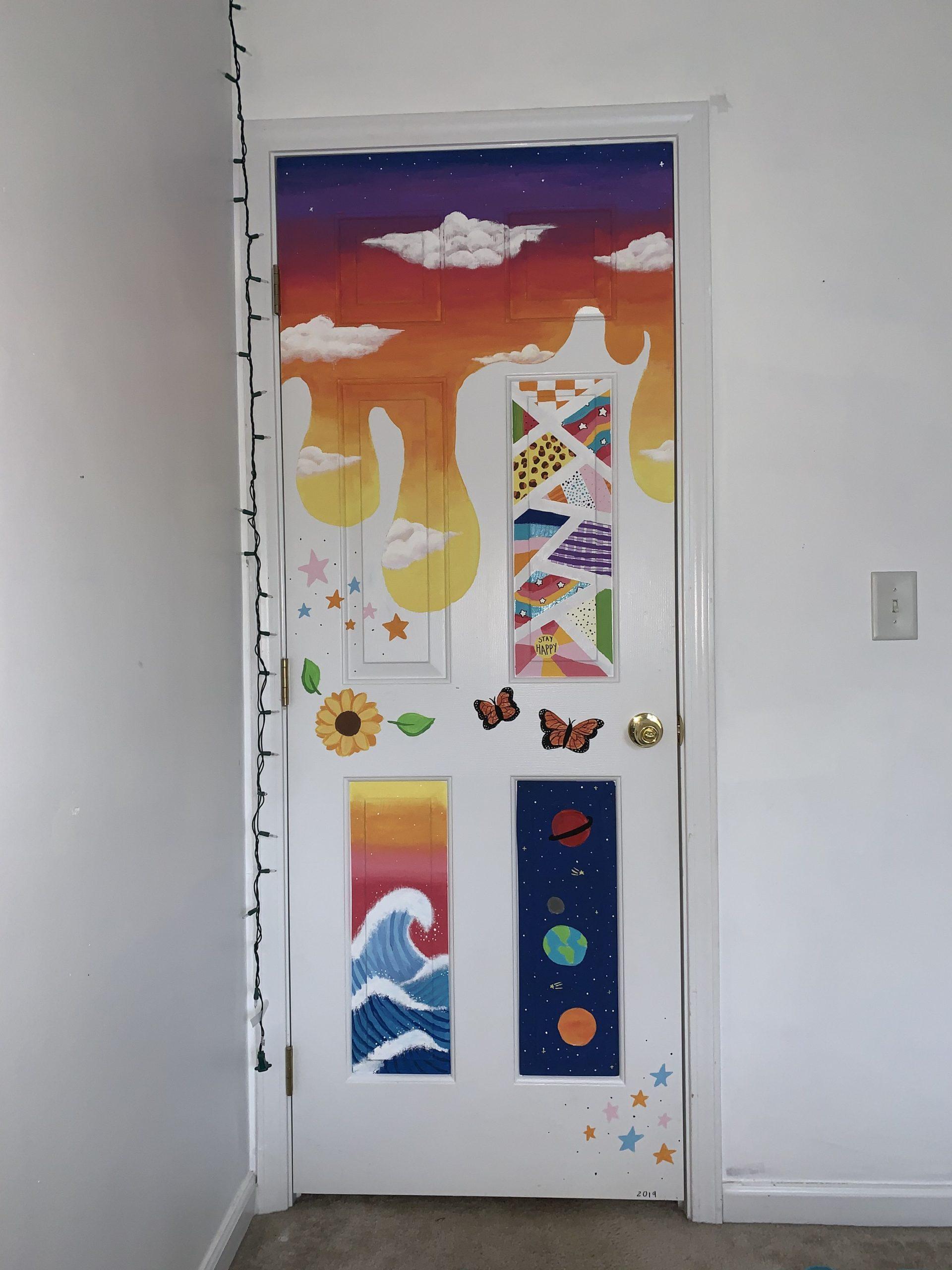 Bedroom Door Paintings
