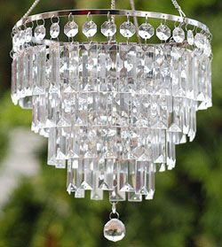 Battery Operated Outdoor Chandelier