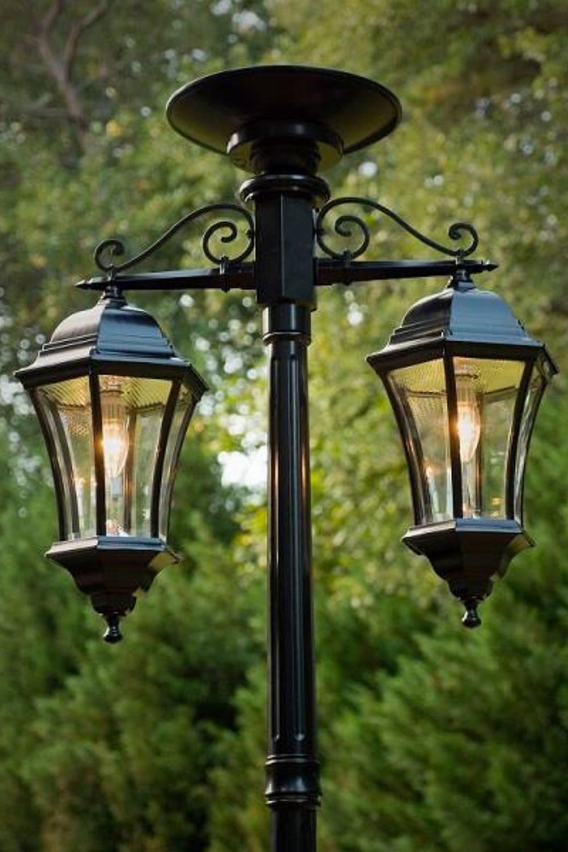 Outdoor Solar Lamp Post